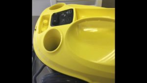 Ako nastaviť tvrdosť vody na parnom čističi Kärcher SC 3