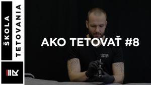 Ako si nastaviť strojček na tieňovanie - Ako tetovať #8