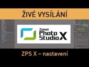 Fotograficky.guru – Zoner Photo Studio – nastavení