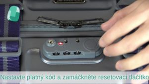 Jak nastavit TSA zámek kufru March Trunk | How to Set a TSA lock | Bagalio