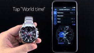 SVETCASU.CZ hodinky Casio Edifice ECB 500 nastavení světových časů