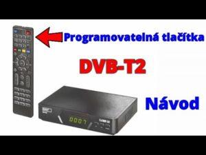 Nastavení set-top boxu | DVB-T/T2 | programovatelný ovladač | Emos EM190