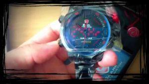 Panské hodinky Shark SportWatch - funkce a nastavení