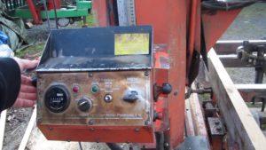 Wood-Mizer LT 30 1995 - výškové nastavení řezu