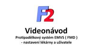 EMVS - nastavení lékárny a uživatele