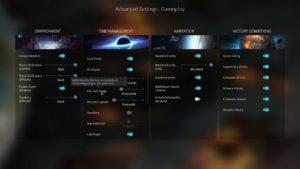 Endless Space 2 - game settings tutorial - nastavení hry CZ