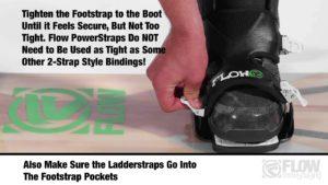 Jak na to - nastavení Flow unifit power strapu