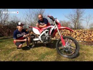 Motoskola Moto velo Start - 1 díl  nastavení kola a motorky