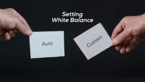 Setting White Balance