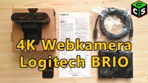 UNBOXING i nastavení webkamery Logitech BRIO [I/P]