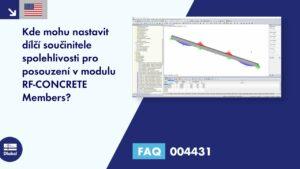 [EN] FAQ 004431 | Kde mohu nastavit dílčí součinitele spolehlivosti pro posouzení v modulu RF-CON...
