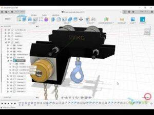 Fusion 360 - jak nastavit hmotnost komponenty sestavy