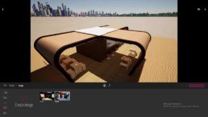 Nastavení pohledů pro obrázky scény v programu Twinmotion 2020